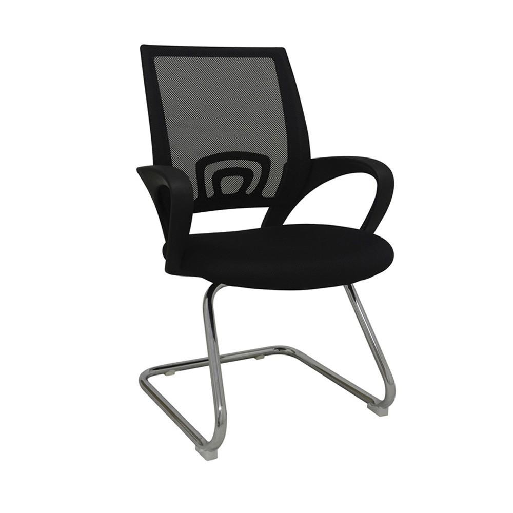 Cadeira Fixa Office Santiago Preto D'Rossi