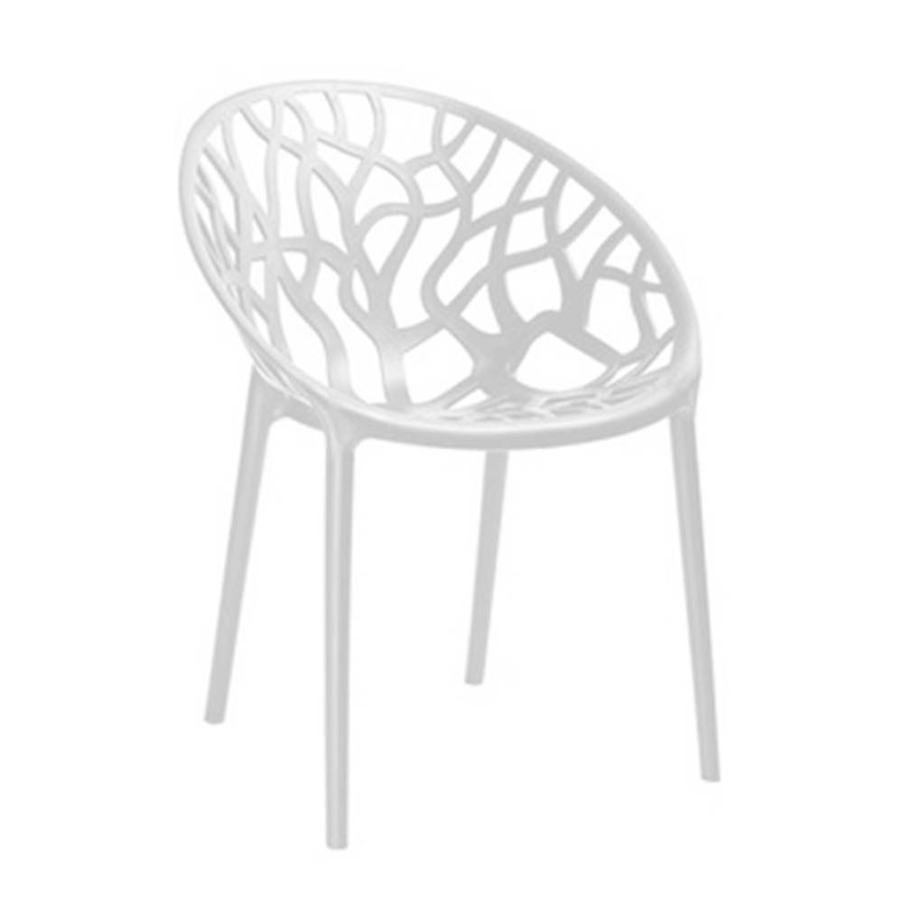 Cadeira Nairobi Sala de Jantar Branco - D'Rossi