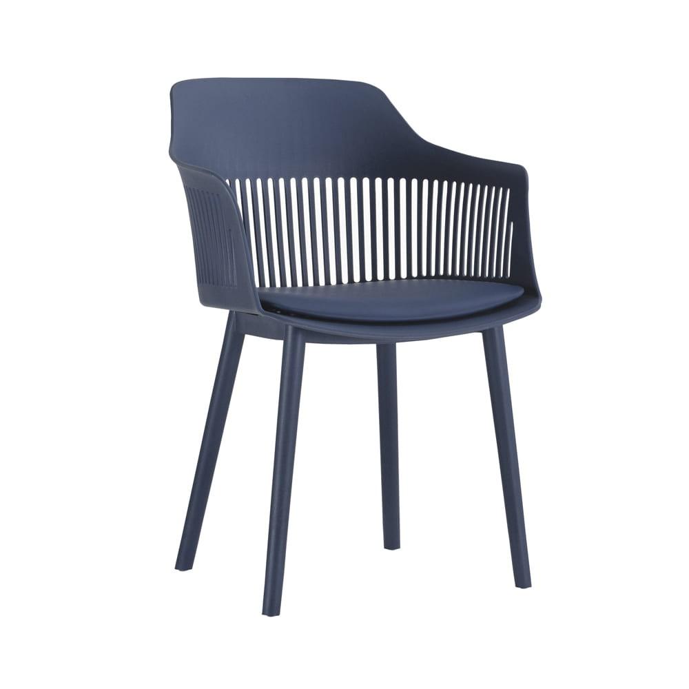 Cadeira Polipropileno Marcela Azul Marinho D'Rossi