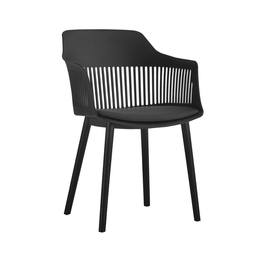 Cadeira Polipropileno Marcela Preto D'Rossi