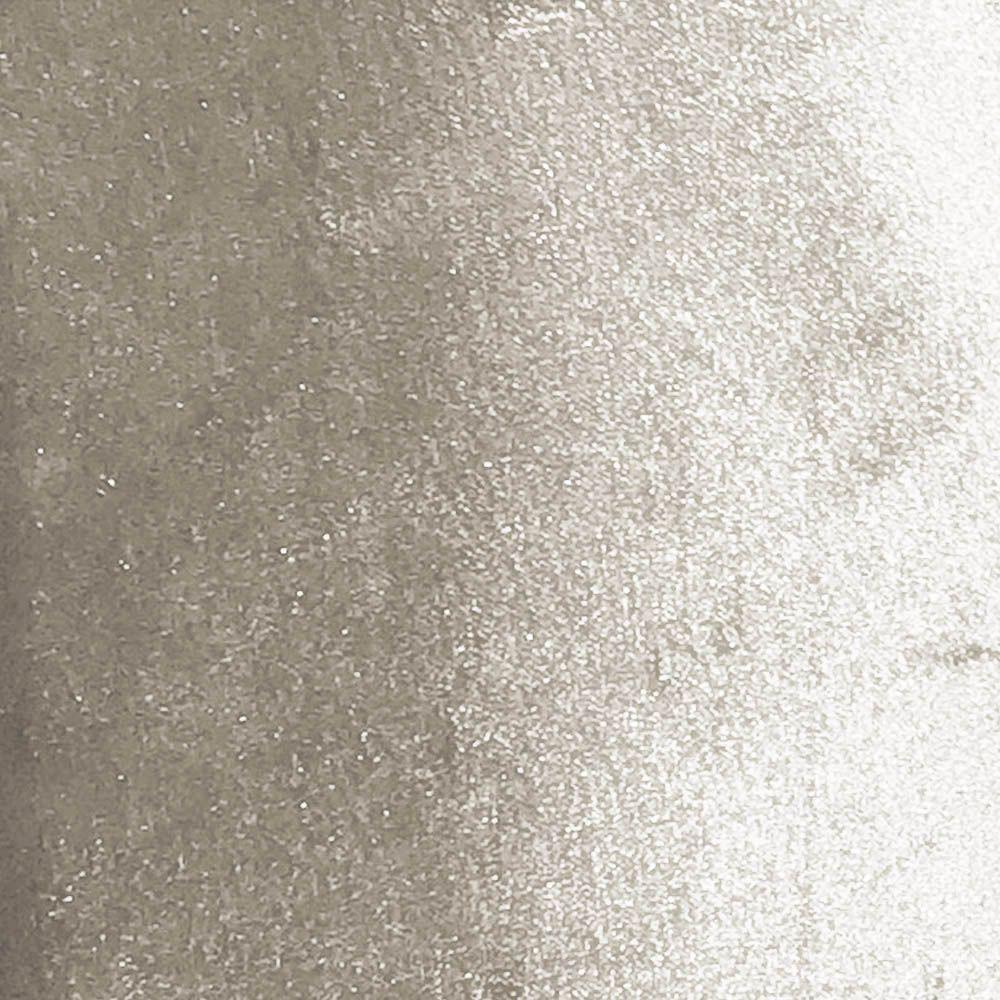 Cadeira de Jantar Liz Acetinado Bege Pés Palito Castanho D'Rossi