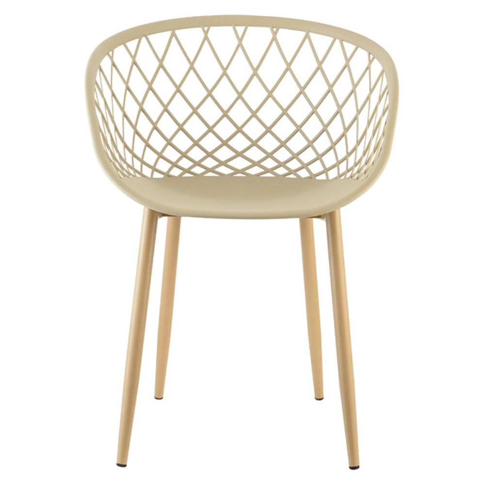 Cadeira Com Braços Polipropileno Sidera Nude D'Rossi
