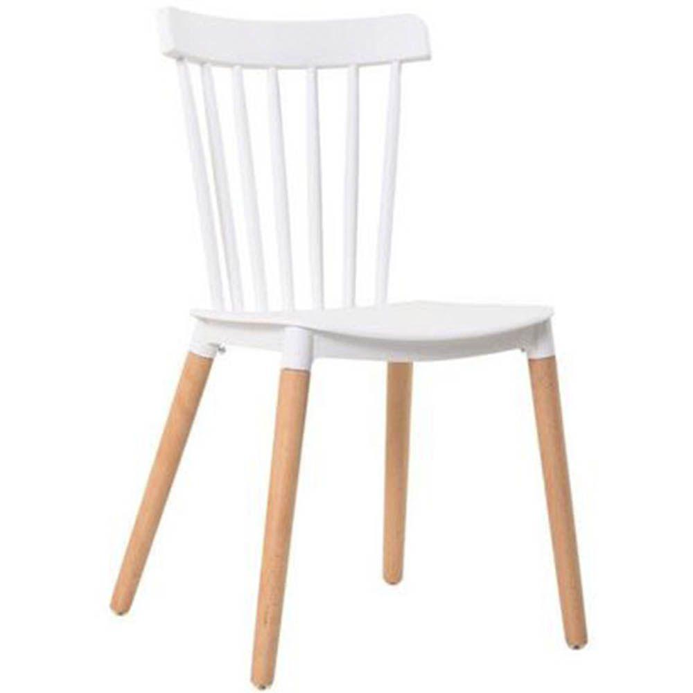 Cadeira Tóquio Sala de Jantar Branco D'Rossi