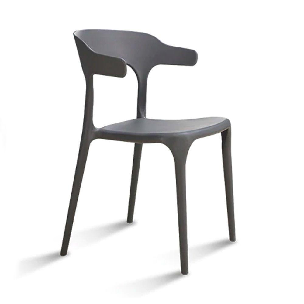 Cadeira Viena Sala de Jantar Cinza - D'Rossi