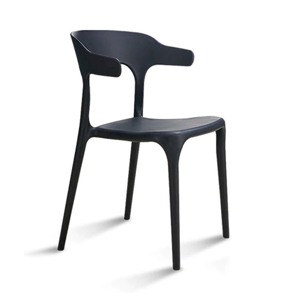 Cadeira Viena Sala de Jantar Preto - D'Rossi
