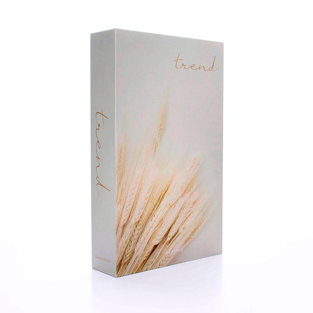 Caixa Livro Decorativa Branco Trend 27x17 cm - D'Rossi