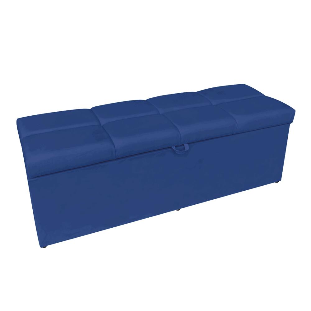 Calçadeira Nina 0,90 cm Suede Azul Royal D'Rossi