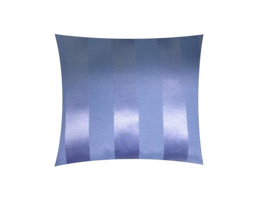 Capa para Almofada Tecido Jacquard Listrado Azul Marinho - Drossi