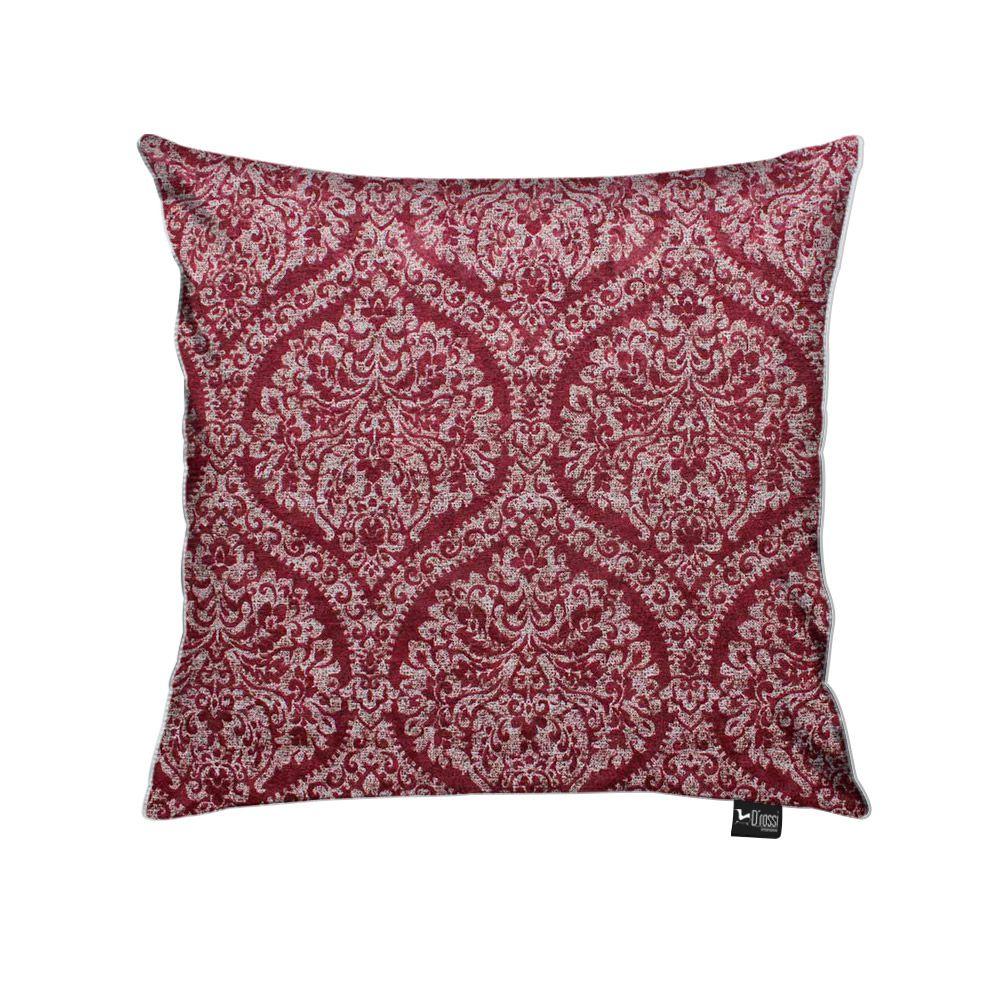 Capa para Almofada Tecido Estampado Mandala Vermelho D95 - D'Rossi