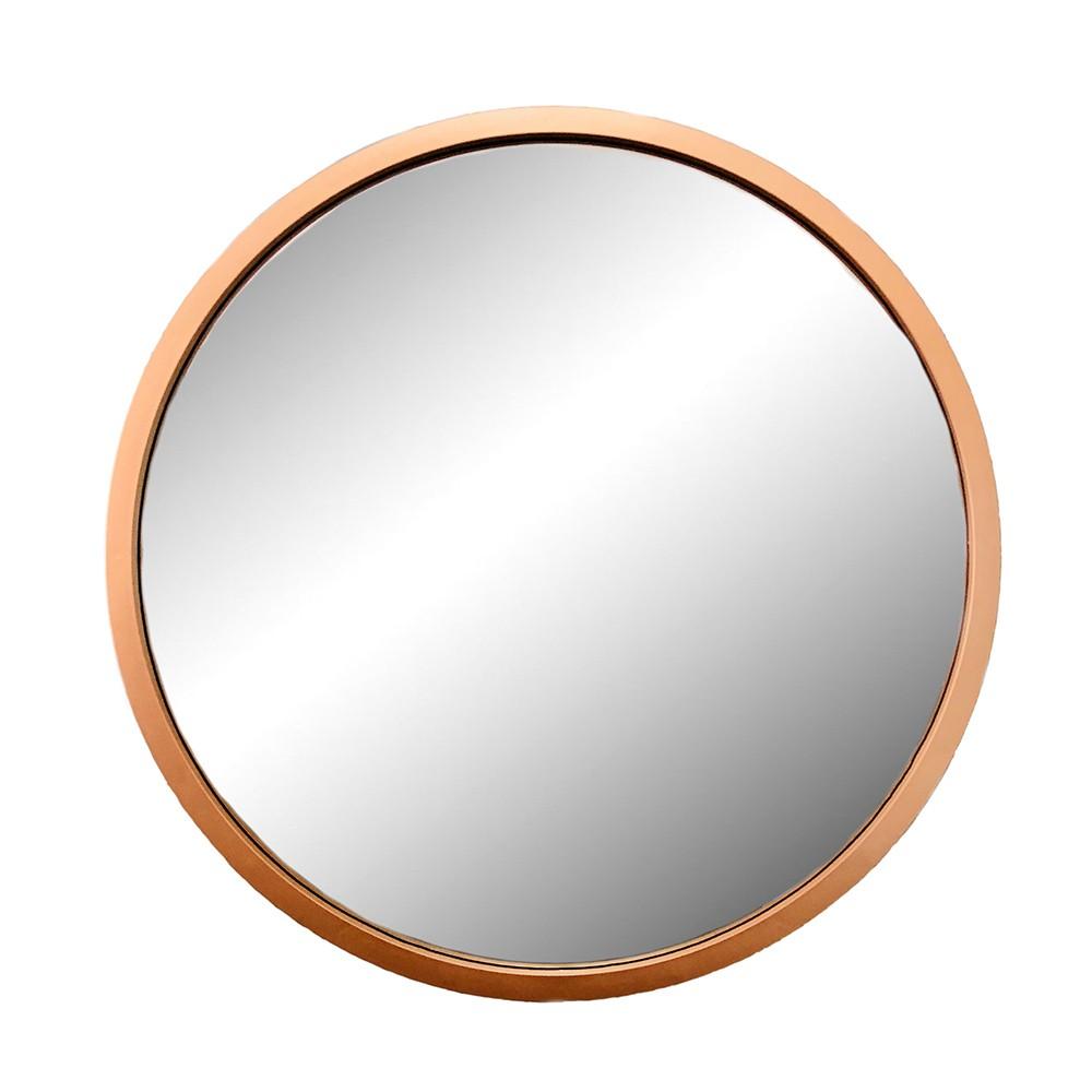 Espelho Decorativo Rose Gold 52X52X1,5CM - D'Rossi