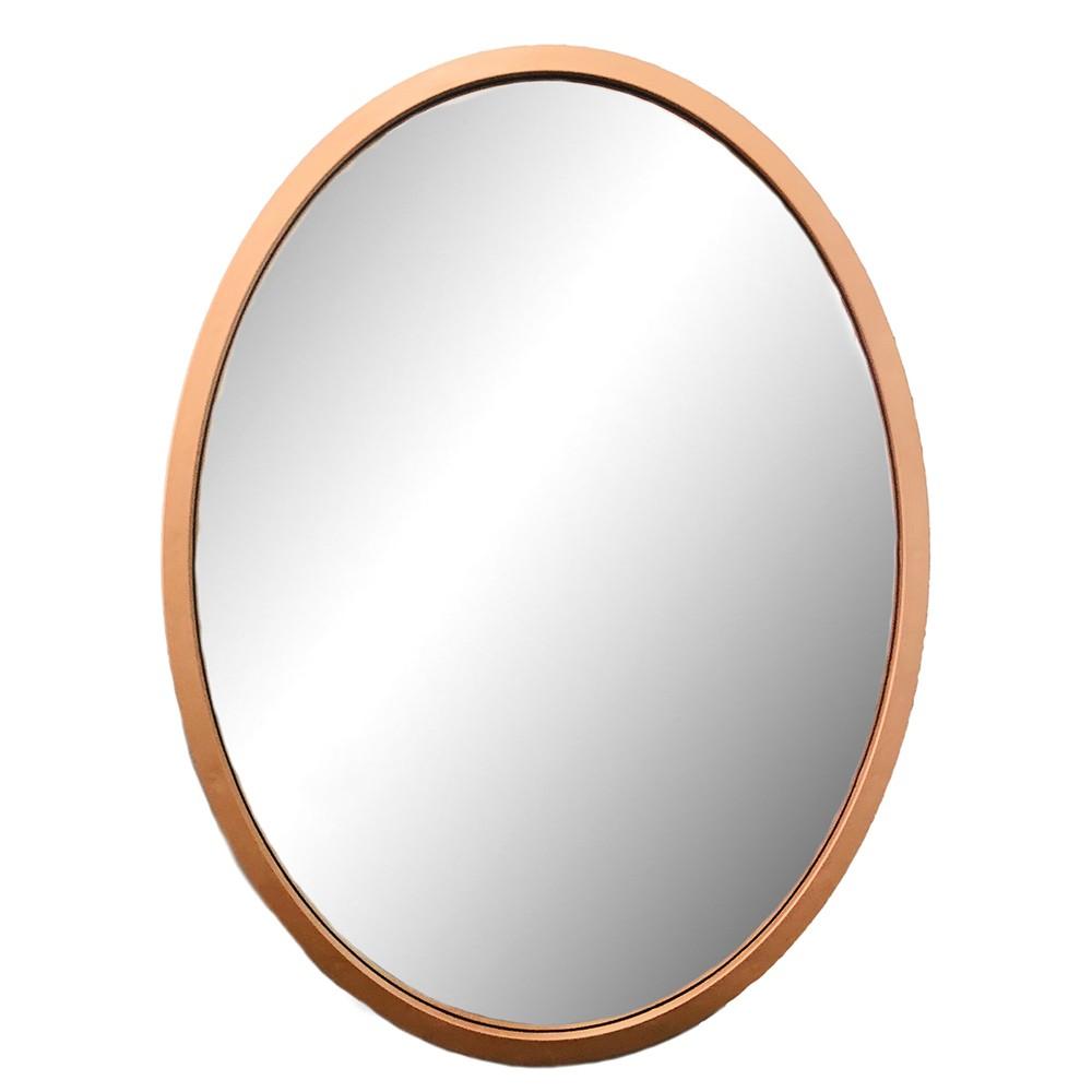 Espelho Decorativo Rose Gold 62X43X1,5CM - D'Rossi