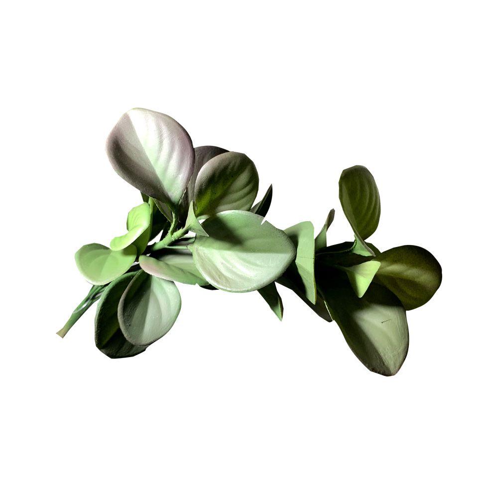 Folhagem Artificial Verde Outono 30cm - D'Rossi