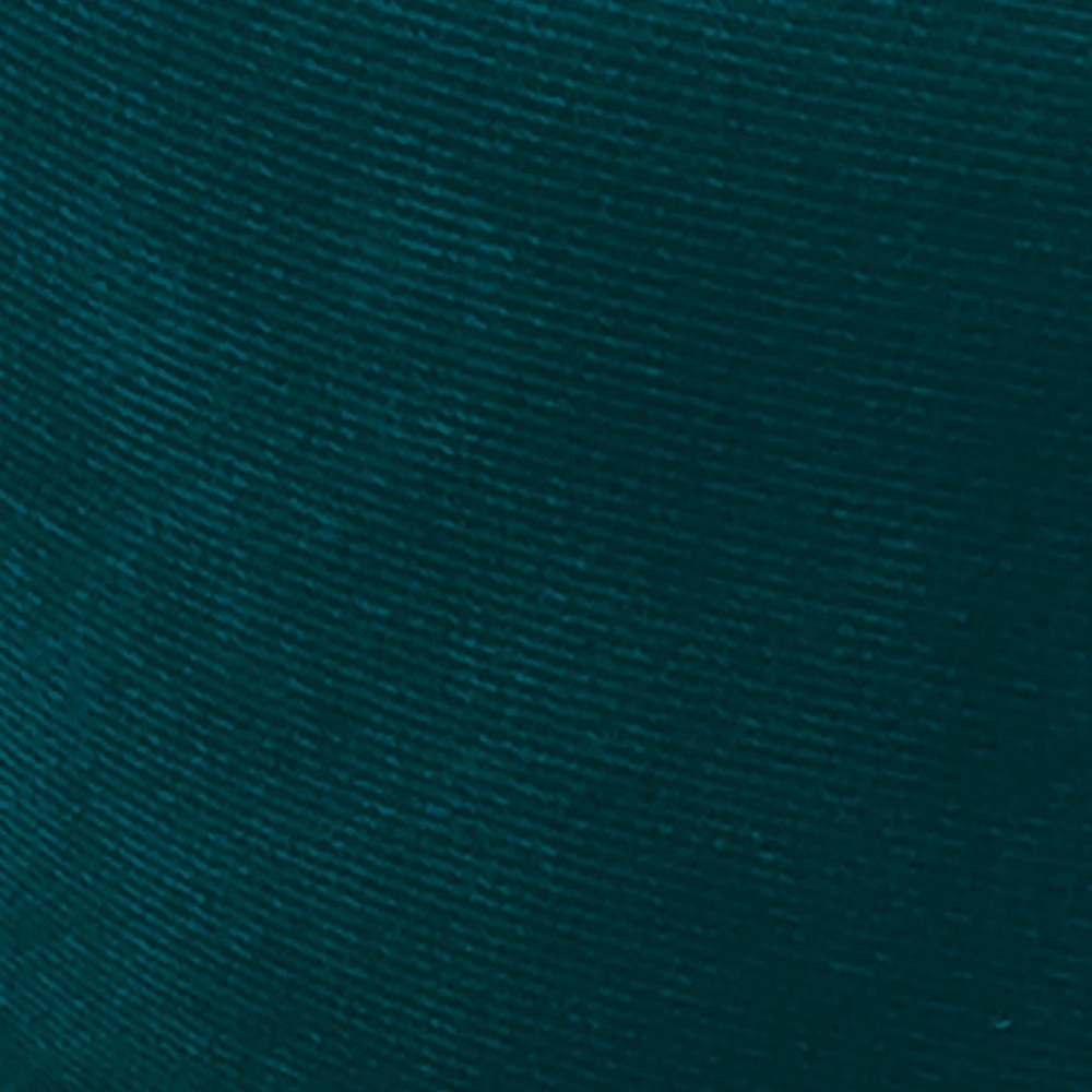 Kit 01 Poltrona e 01 Puff Veronês Suede Azul Pavão Pés Palito D'Rossi