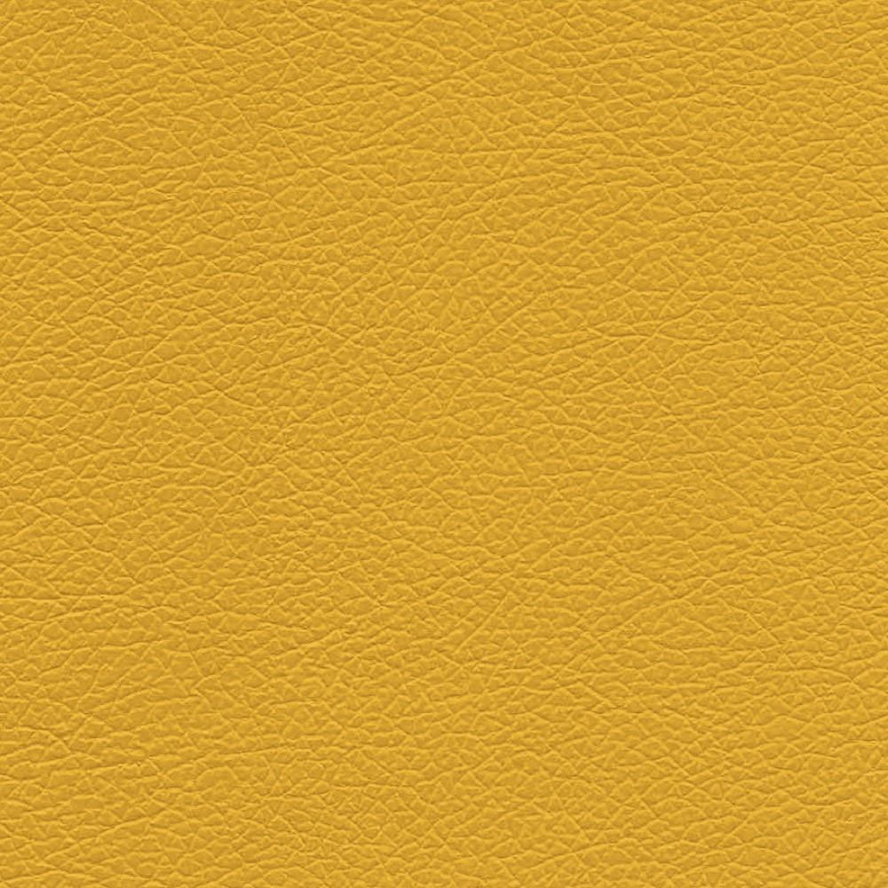 Kit 02 Poltronas Lívia Corino Amarelo Pés Chanfrado D'Rossi