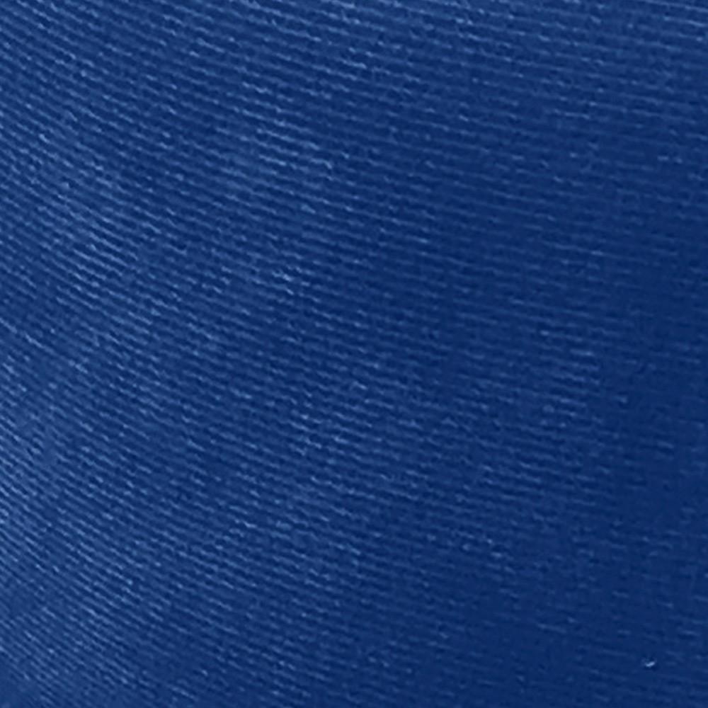 Kit 02 Poltronas Nina Tressê Suede Azul Royal Pés Palito Castanho D'Rossi