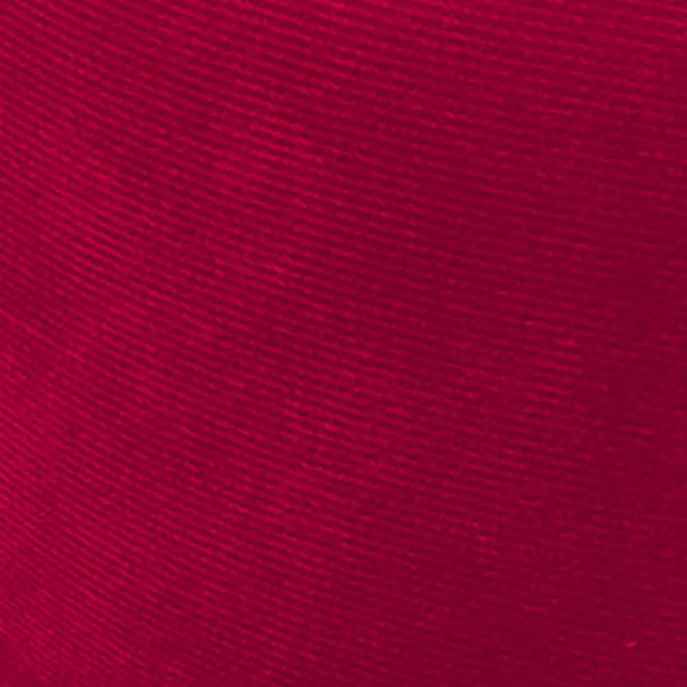 Kit 02 Puffs Angel Redondo Suede Vermelho D'Rossi