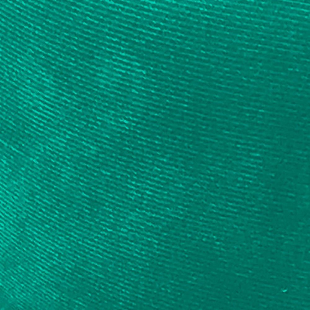 Kit 02 Recamier Barcelona Namoradeira Calçadeira Suede Verde Turquesa - D'Rossi
