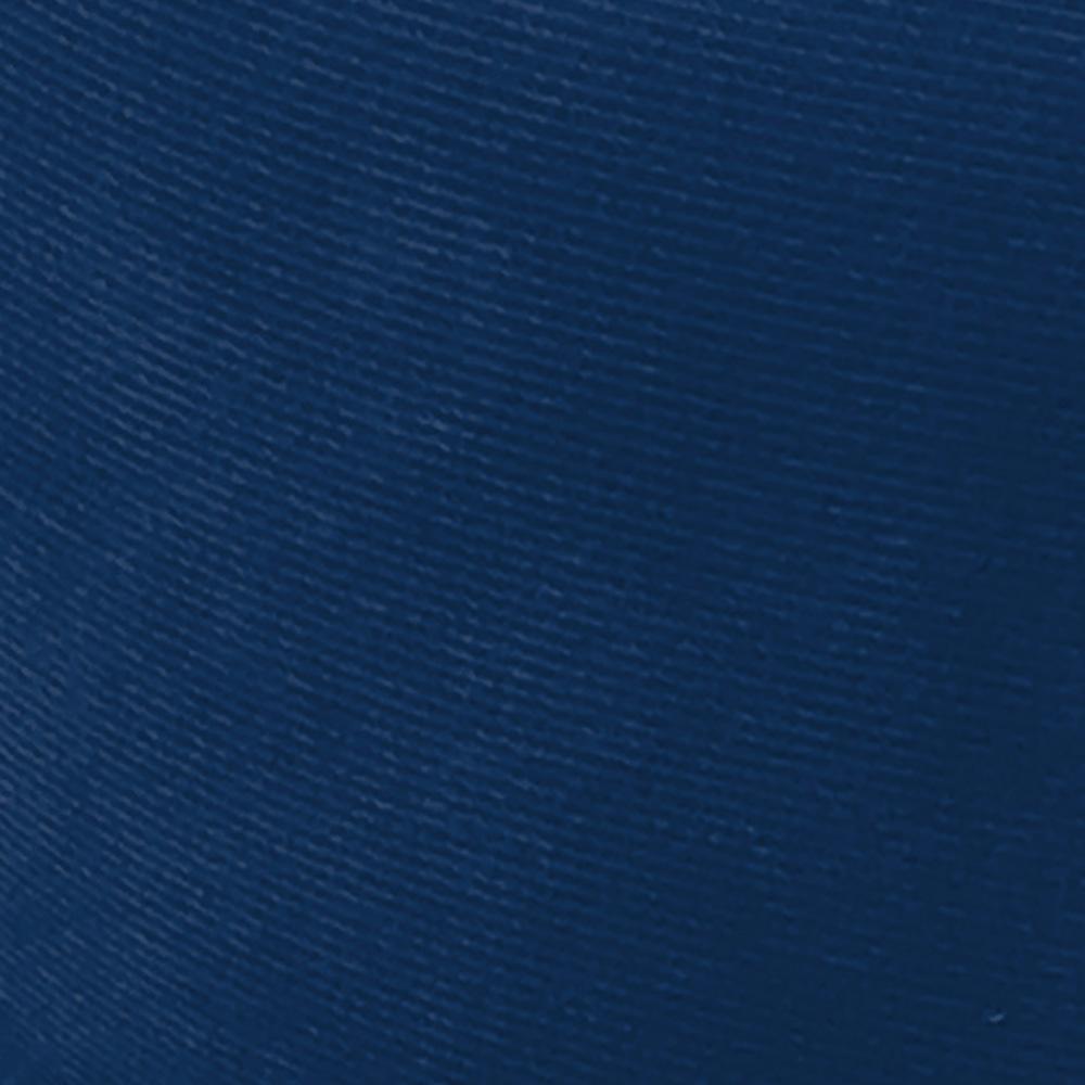 Kit 04 Puffs Iron Suede Azul Marinho Base Preto Palito D'Rossi