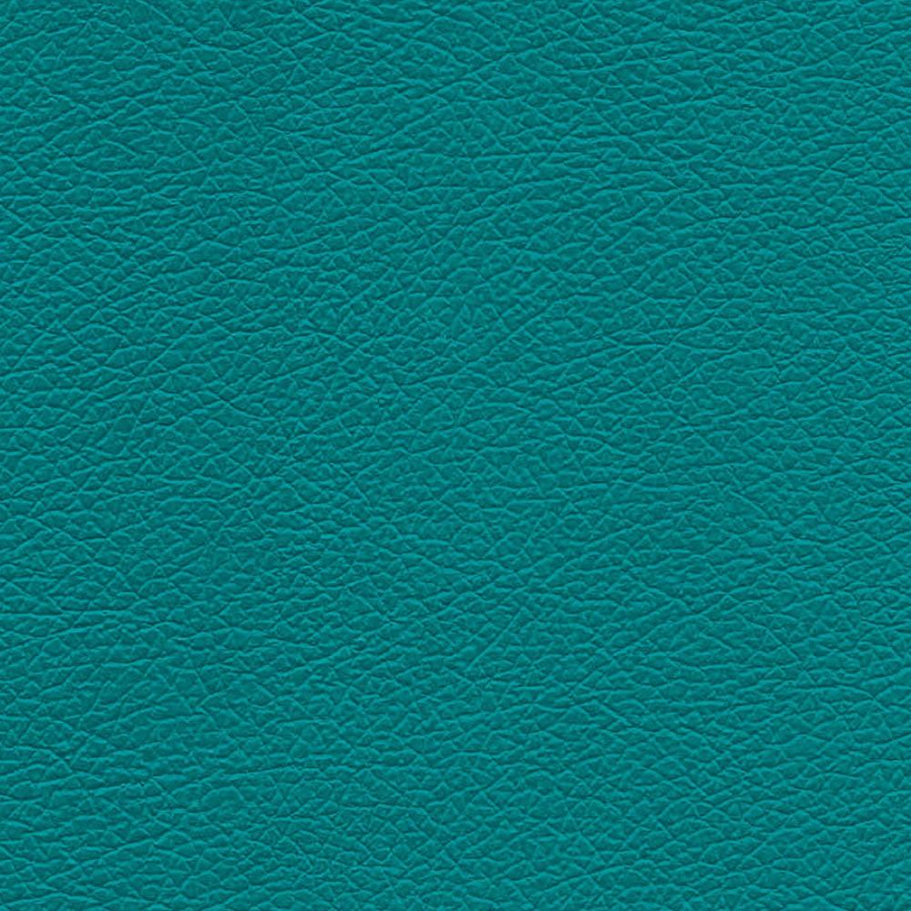 Kit Namoradeira 02 Lugares e 01 Poltrona Jade Corino Azul Turquesa Pés Chanfrado Castanho - D'Rossi