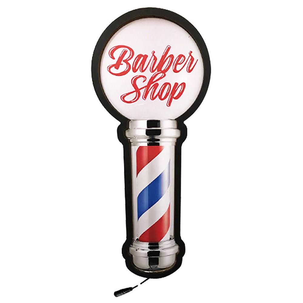 Luminária Decorativa de Parede Poste de Barbearia D'Rossi