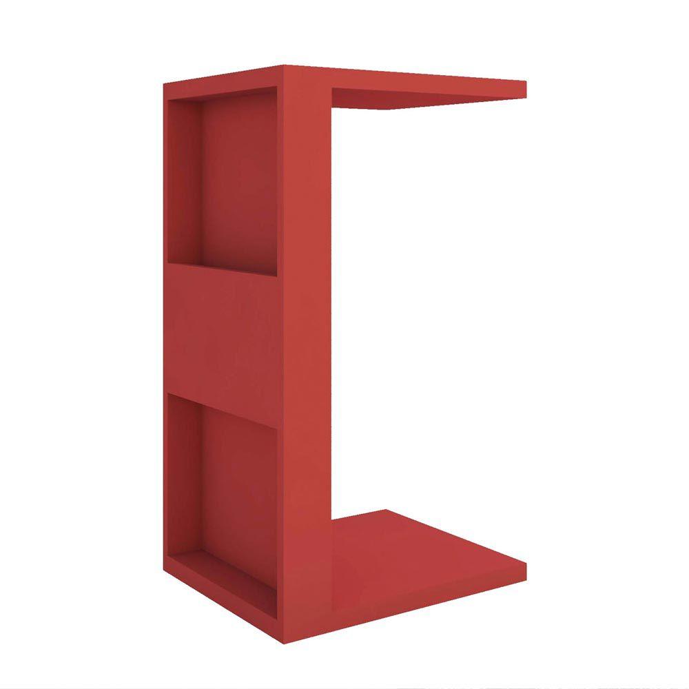 Mesa de Apoio Book Vermelho - D'Rossi