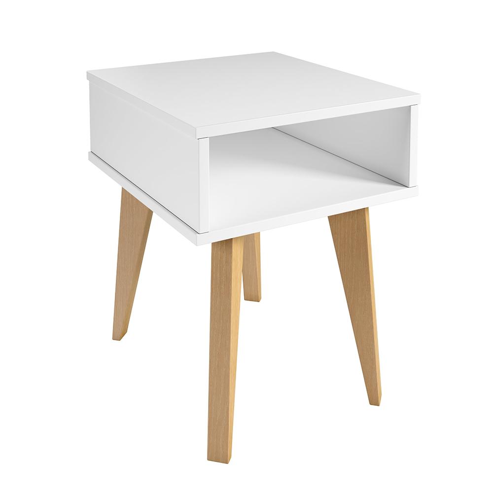 Mesa de Cabeceira Azaléia Branco - D'Rossi