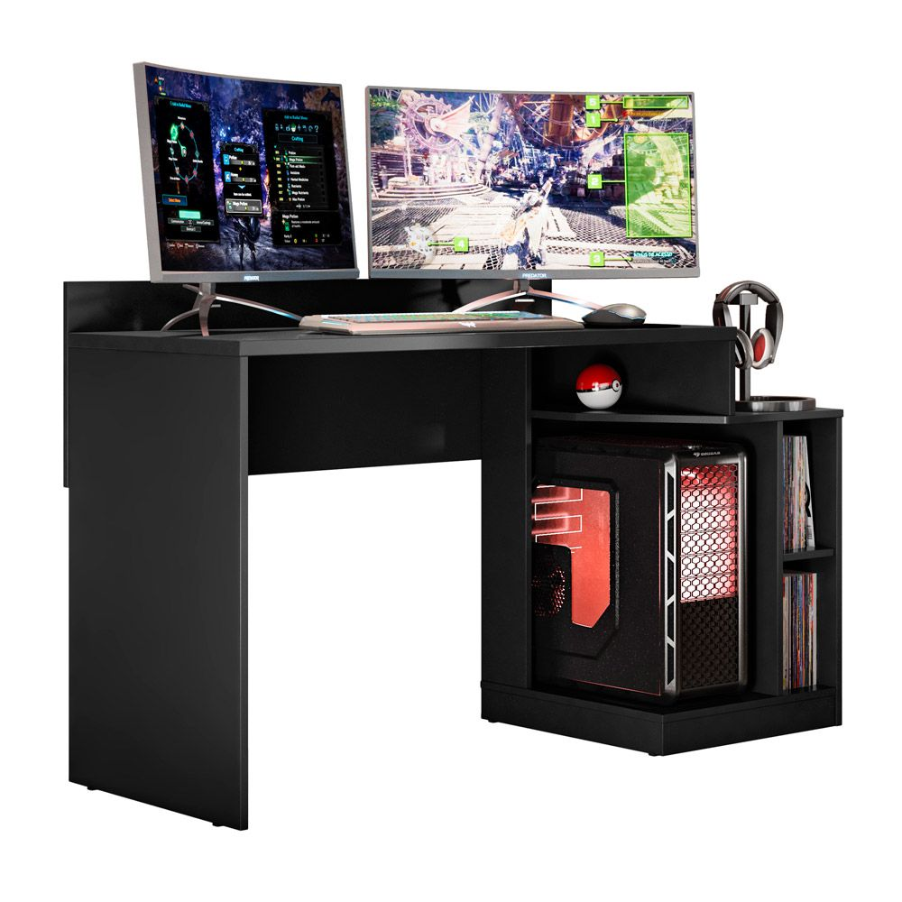 Mesa Gamer Play 136 cm - D'Rossi