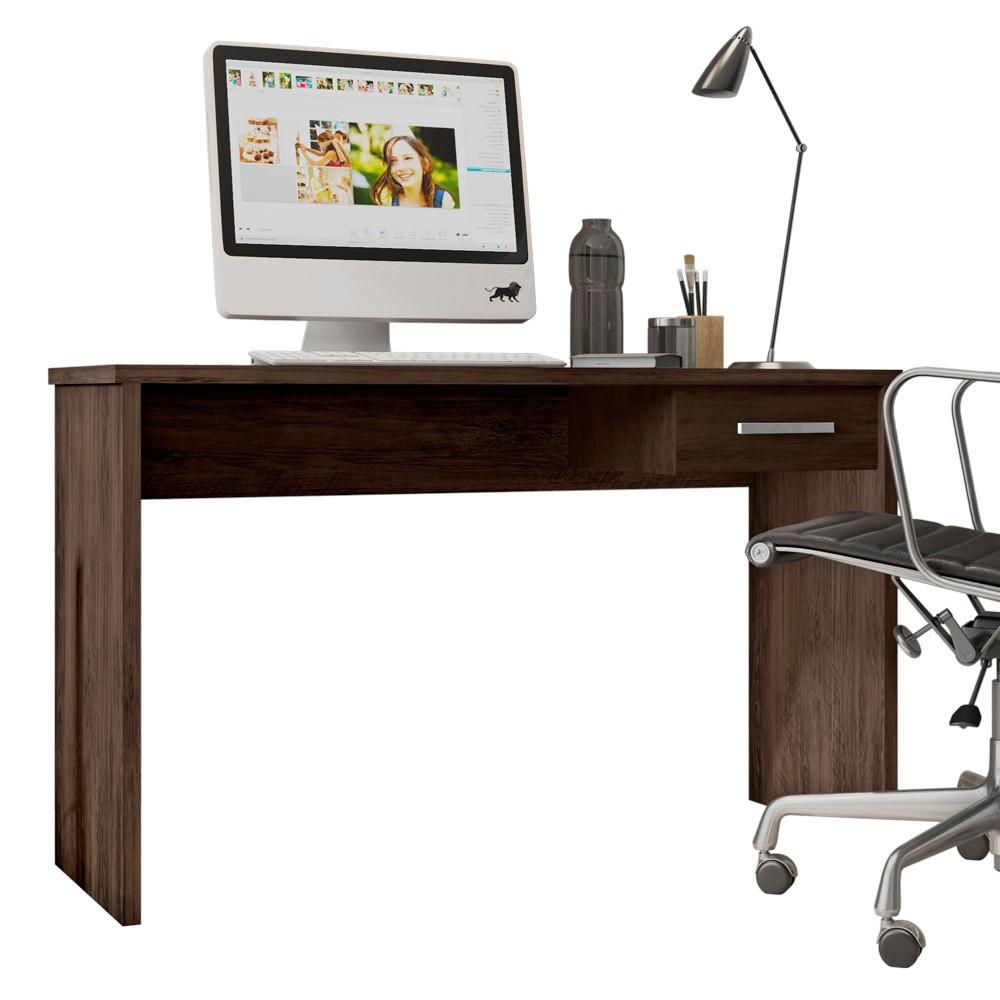 Mesa Para Computador com Gaveta Gávea Avelã - D'Rossi