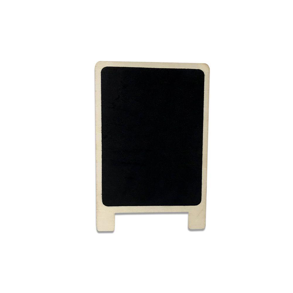Placa Decorativa Branca 13,5X5,5cm - D'Rossi