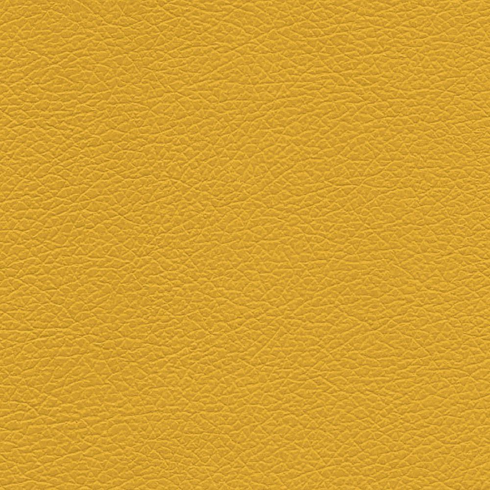 Poltrona Jade Corino Amarelo Pés Chanfrado Tabaco D'Rossi