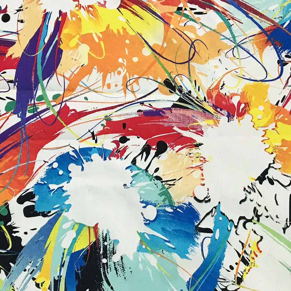 Poltrona Josy Estampado Color D18 Pés Palito Castanho D'Rossi