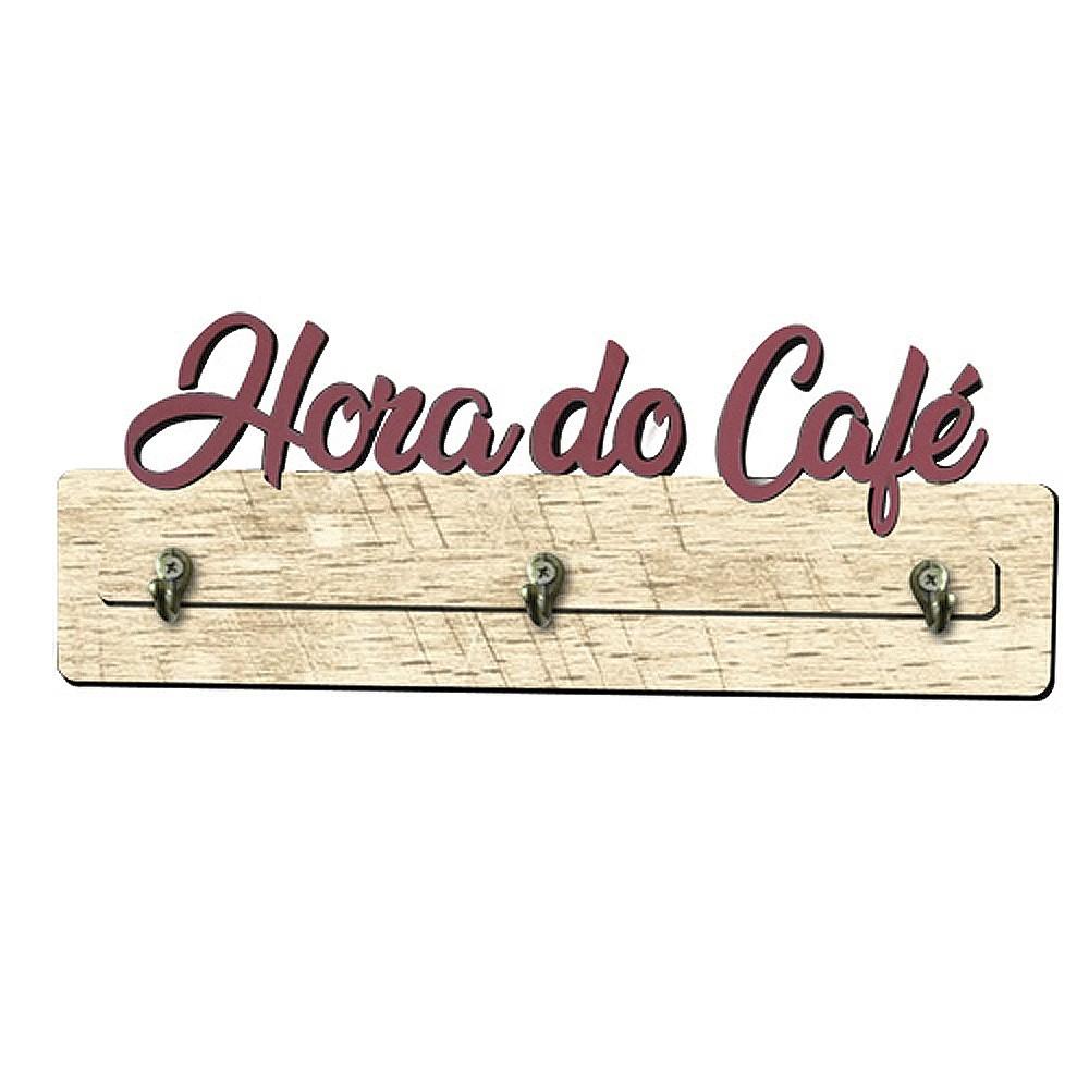 Porta Xicara de Café De Parede