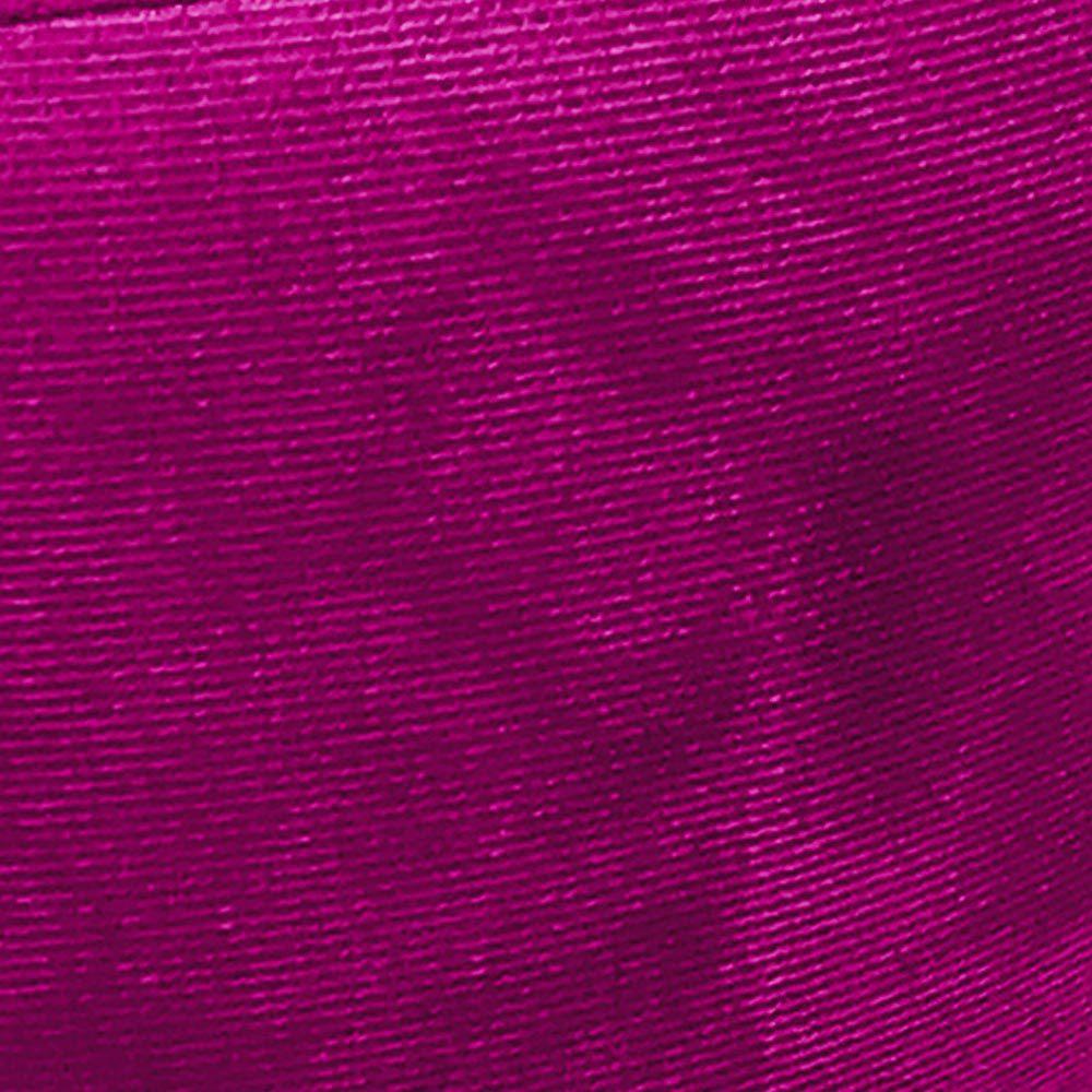 Puff Banqueta Berlim Redondo Suede Pink Pés Natural D'Rossi