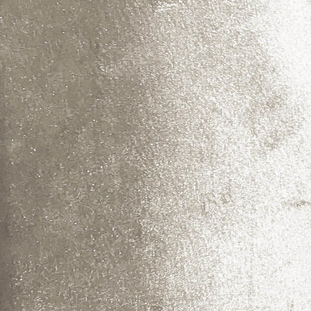 Puff Baú Retrô Luis XV Acetinado Bege - D'Rossi