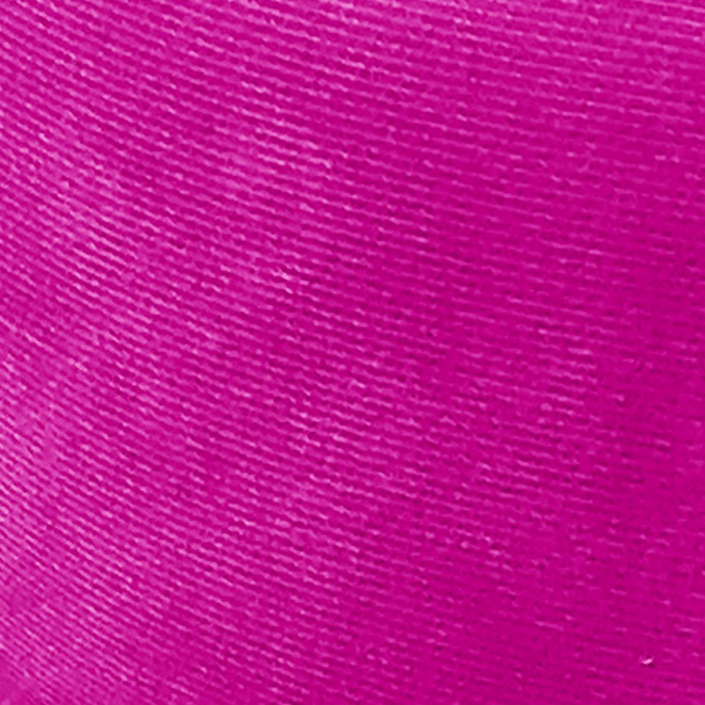 Puff Baú Retrô Luis XV Suede Pink - D'Rossi