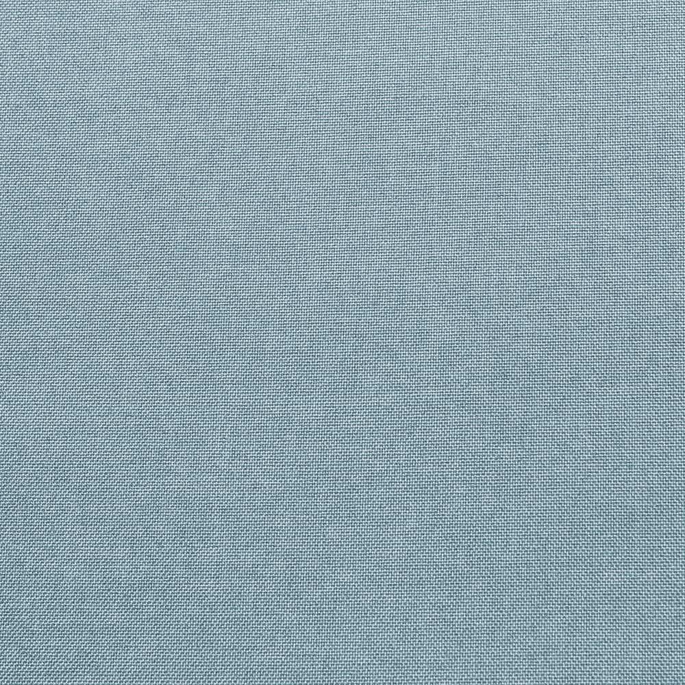 Puff Cobogó Aramado Marrom Linho Azul Nuvem A07 - D'Rossi