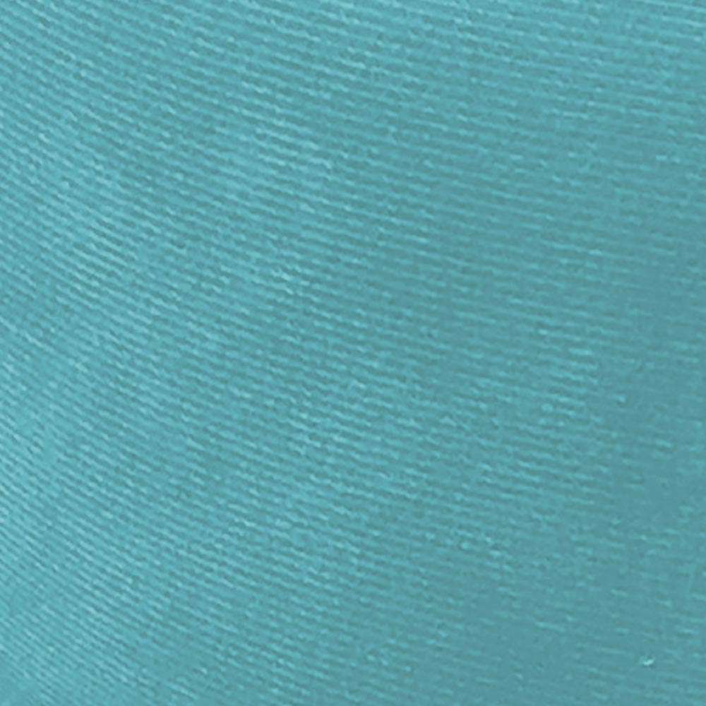 Puff Decorativo Julia Redondo Suede Azul Turquesa - D'Rossi