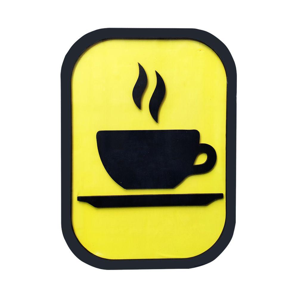 Quadro Decorativo ''Café'' 40x30  - D'Rossi