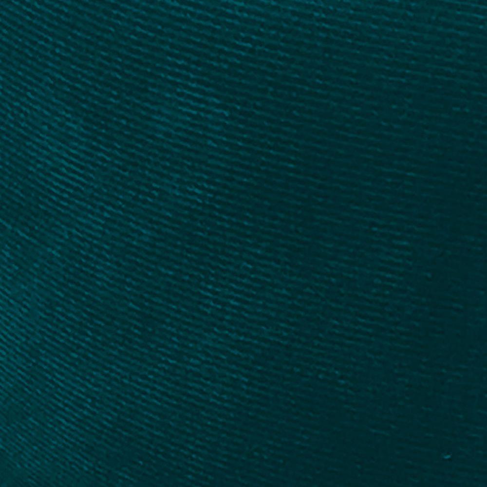 Namoradeira Jade 02 Lugares Suede Azul Pavão Pés Chanfrado Tabaco - D'Rossi