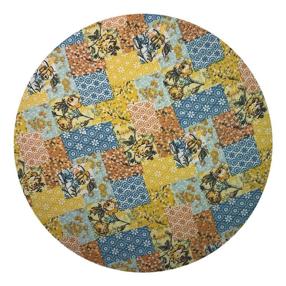 Sousplat Para Prato Suporte De Mesa Decorativo Patchwork Floral 30 cm - D'Rossi