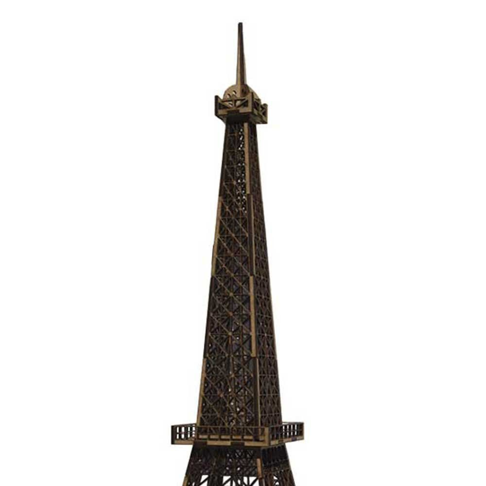 Torre Eiffel Decorativa Corte Laser MDF Cru 60cm - D'Rossi