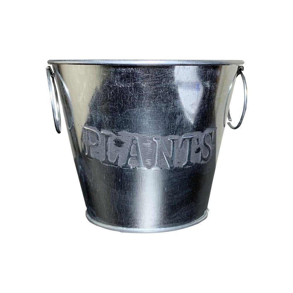 Vaso Decorativo em Metal 10cm - D'Rossi