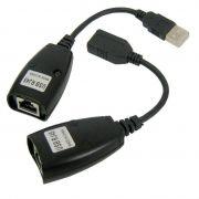 Adaptador Extensor USB via Cabo de Rede RJ45 até 45 Metros Knup HB-T88
