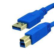 Cabo USB 3.0 AM/BM 2 Metros para Impressora
