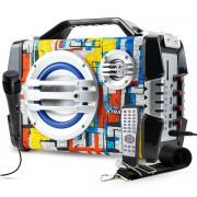 Caixa de Som Bluetooth Portátil 100 Watts RMS com Microfone Xtrad XDG-23