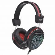 Headset Gamer com Microfone e Led Colorido Exbom GH-X10