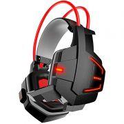 Headset Gamer com Microfone e LEDs Coloridos Infokit GH-X20