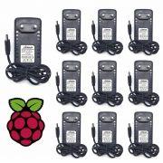 Kit 10 Fontes Chaveada 5v 3a Micro USB Bivolt Xtrad XT-6013