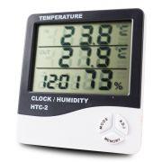 Medidor de Umidade e Temperatura Digital em LCD PZ-HTC2