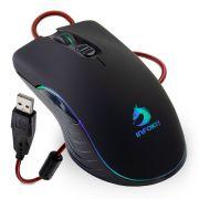Mouse Gamer Usb X Soldado C/ Led 7 Cores Até 6400 DPI Infokit GM-V550
